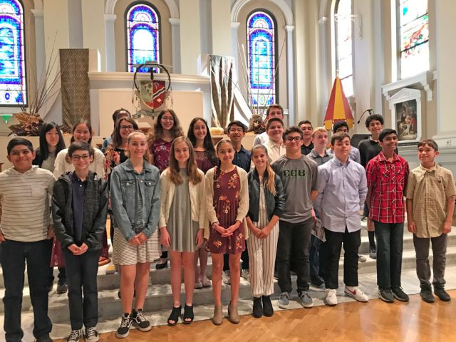 8th Grade Spanish Mass